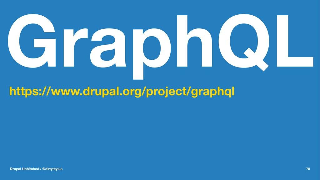 GraphQL https://www.drupal.org/project/graphql ...