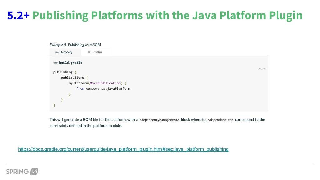 5.2+ Publishing Platforms with the Java Platfor...