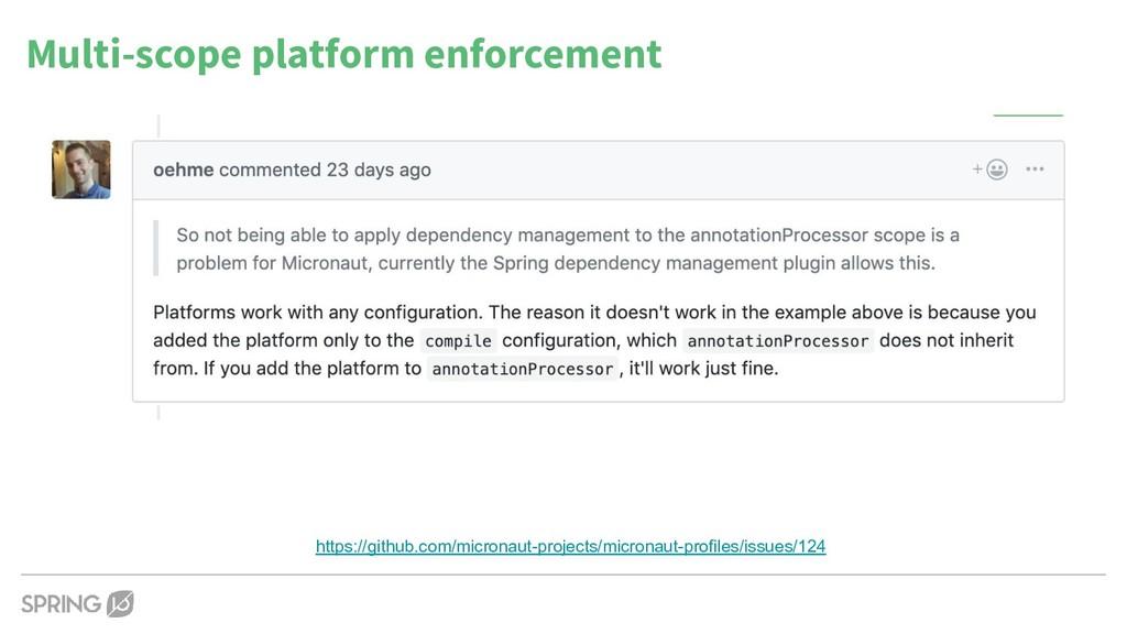 Multi-scope platform enforcement https://github...