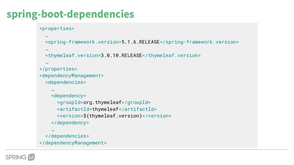 <properties> … <spring-framework.version>5.1.6....