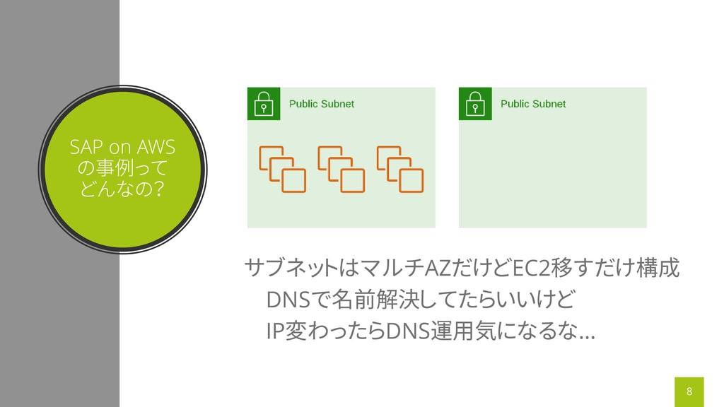 SAP on AWS の事例って どんなの? サブネットはマルチAZだけどEC2移すだけ構成 ...