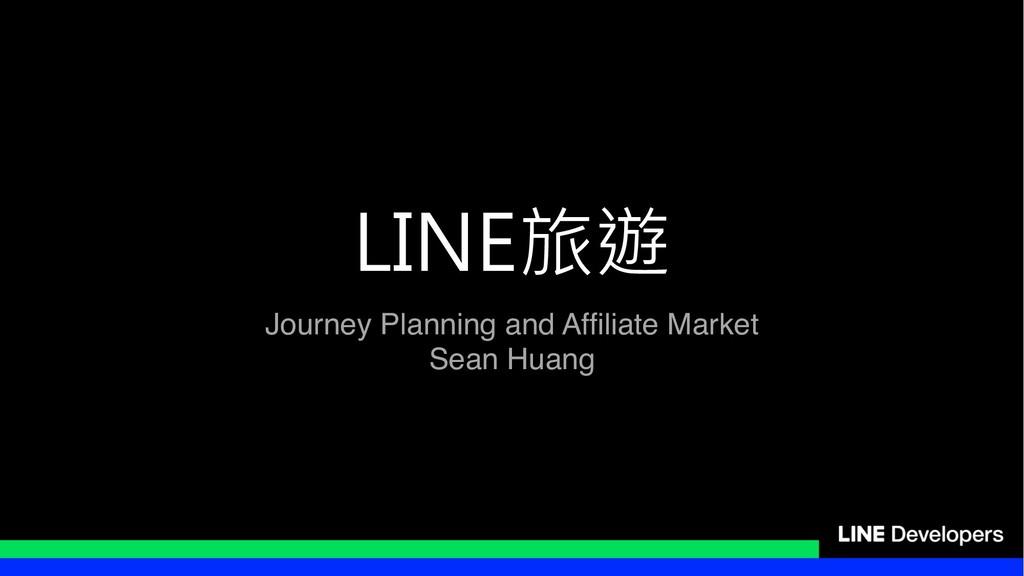 Journey Planning and Affiliate Market Se...
