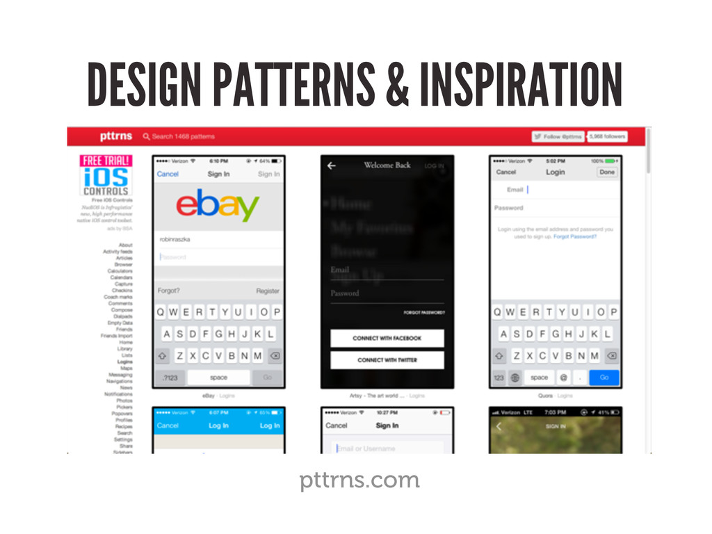 DESIGN PATTERNS & INSPIRATION pttrns.com