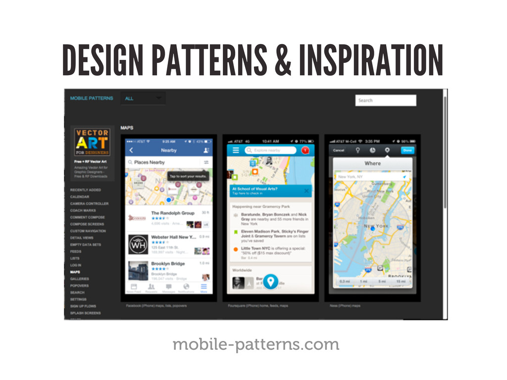 DESIGN PATTERNS & INSPIRATION mobile-patterns.c...
