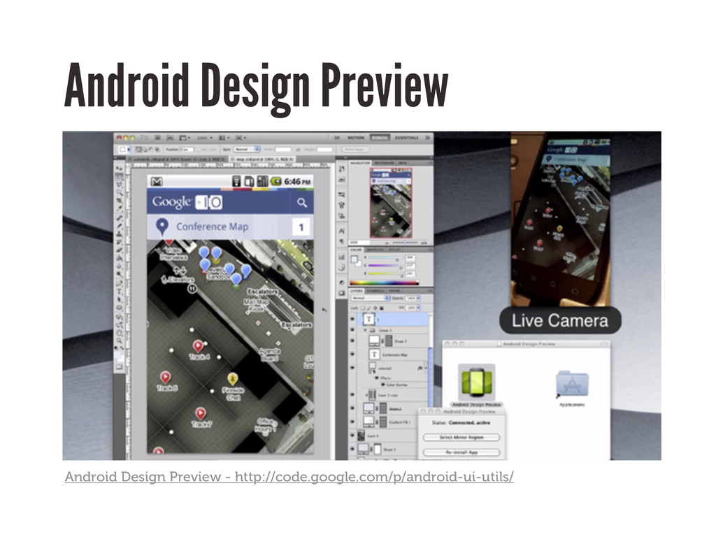Android Design Preview Android Design Preview -...