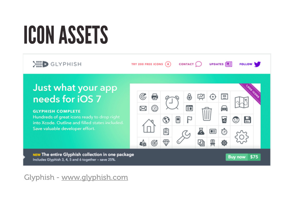ICON ASSETS Glyphish - www.glyphish.com
