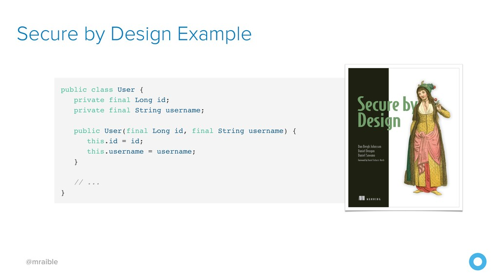 @mraible Secure by Design Example