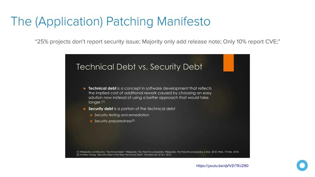 The (Application) Patching Manifesto https://yo...