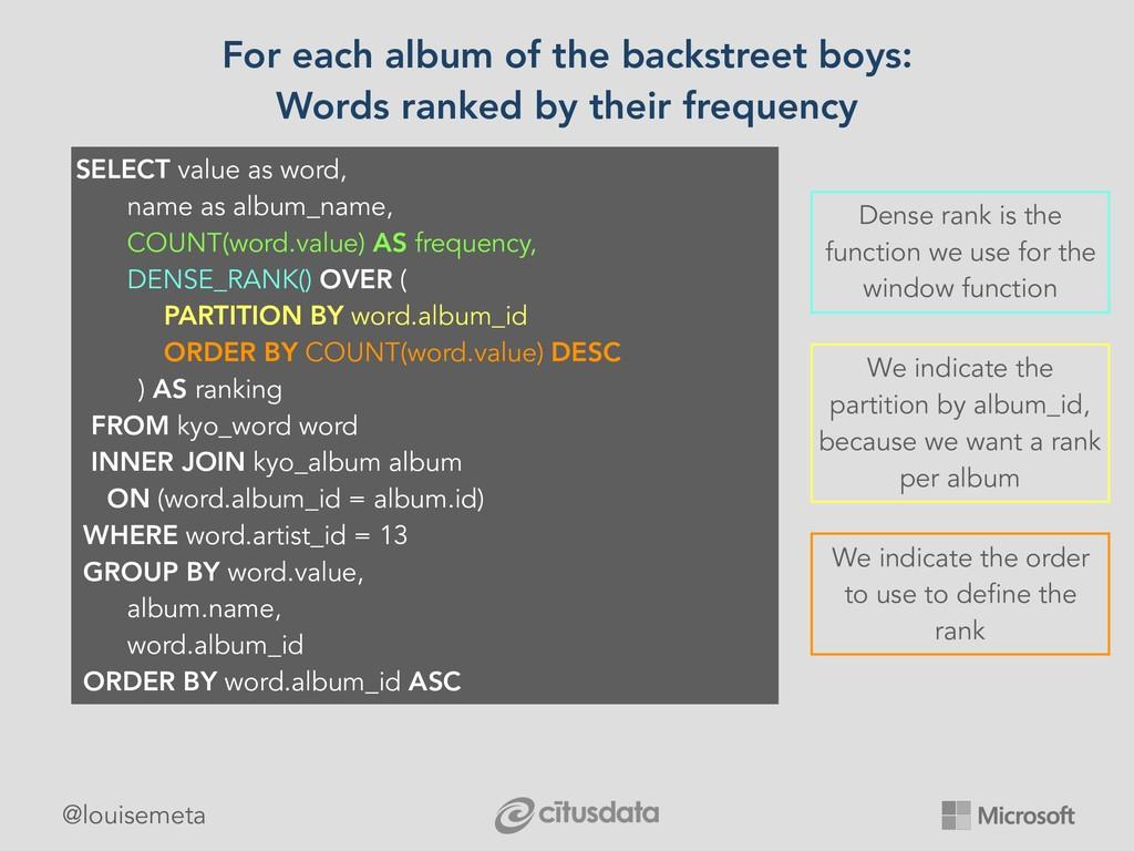 @louisemeta For each album of the backstreet bo...