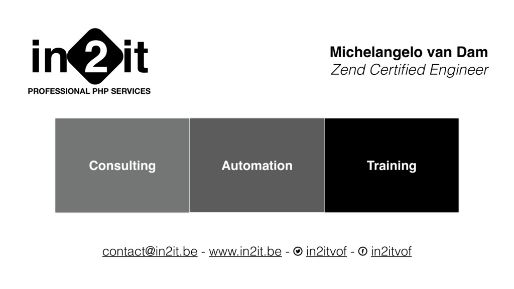 in it 2 PROFESSIONAL PHP SERVICES Michelangelo ...