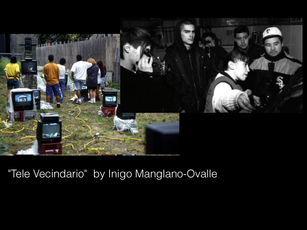 """Tele Vecindario"" by Inigo Manglano-Ovalle"
