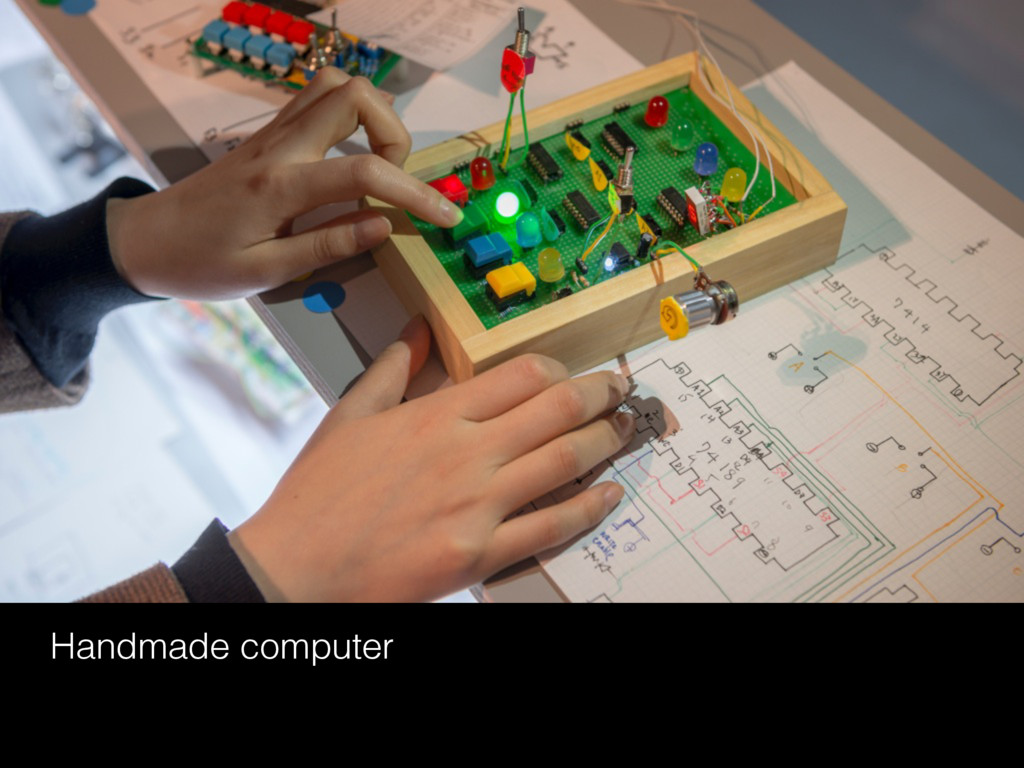 Handmade computer