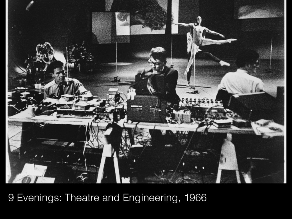 9 Evenings: Theatre and Engineering, 1966