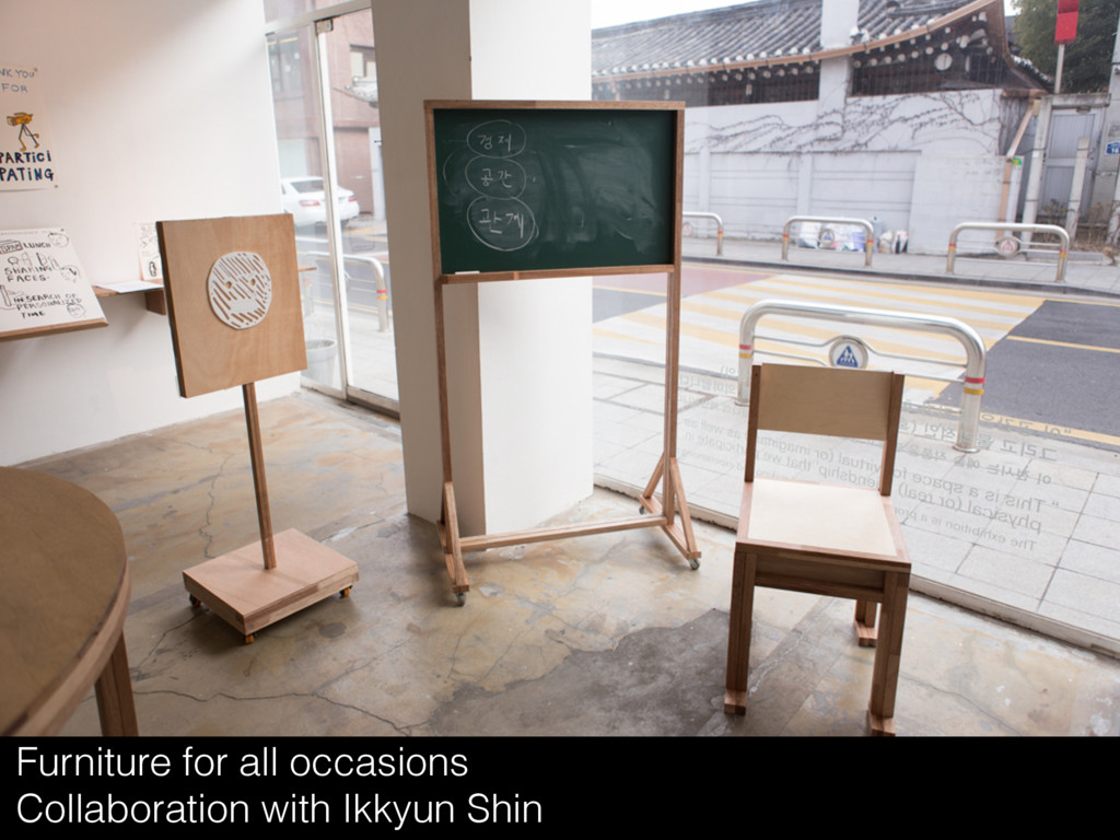 Furniture for all occasions Collaboration with ...