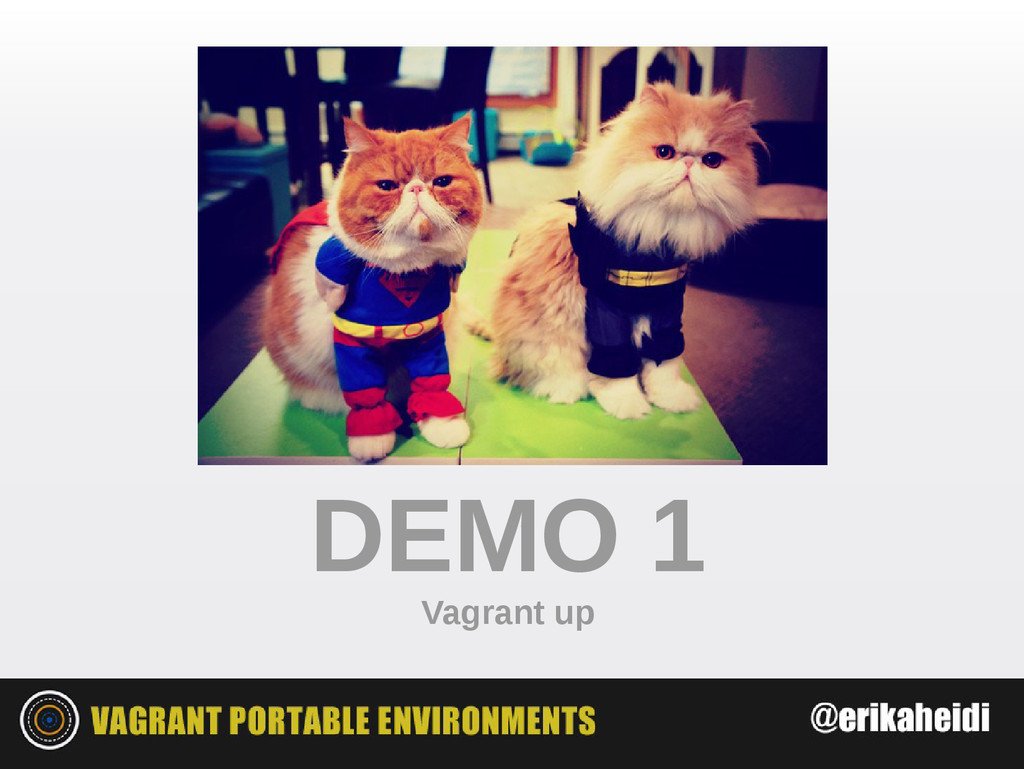DEMO 1 Vagrant up