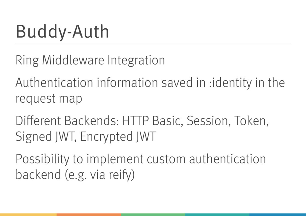 Buddy-Auth Ring Middleware Integration Authenti...