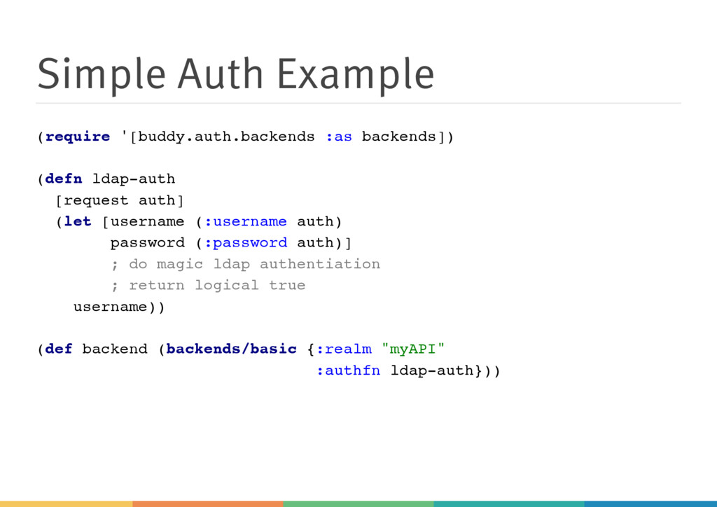 Simple Auth Example ( r e q u i r e ' [ b u d d...