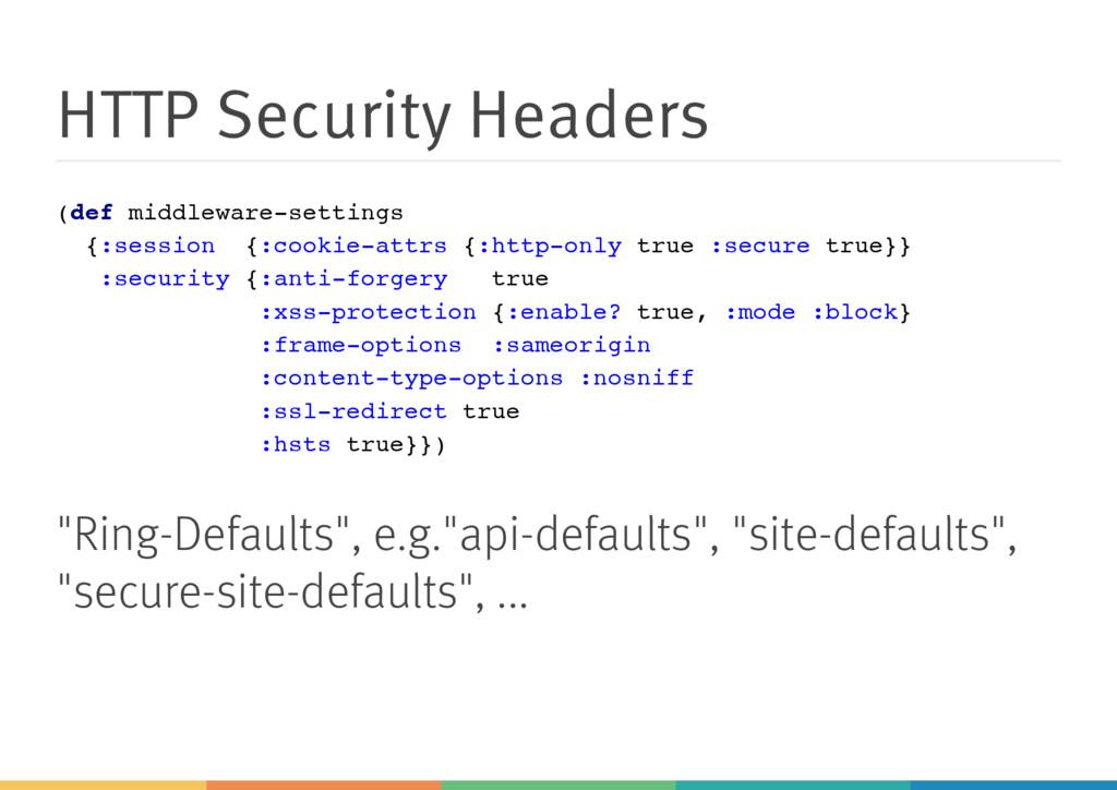 HTTP Security Headers ( d e f m i d d l e w a r...