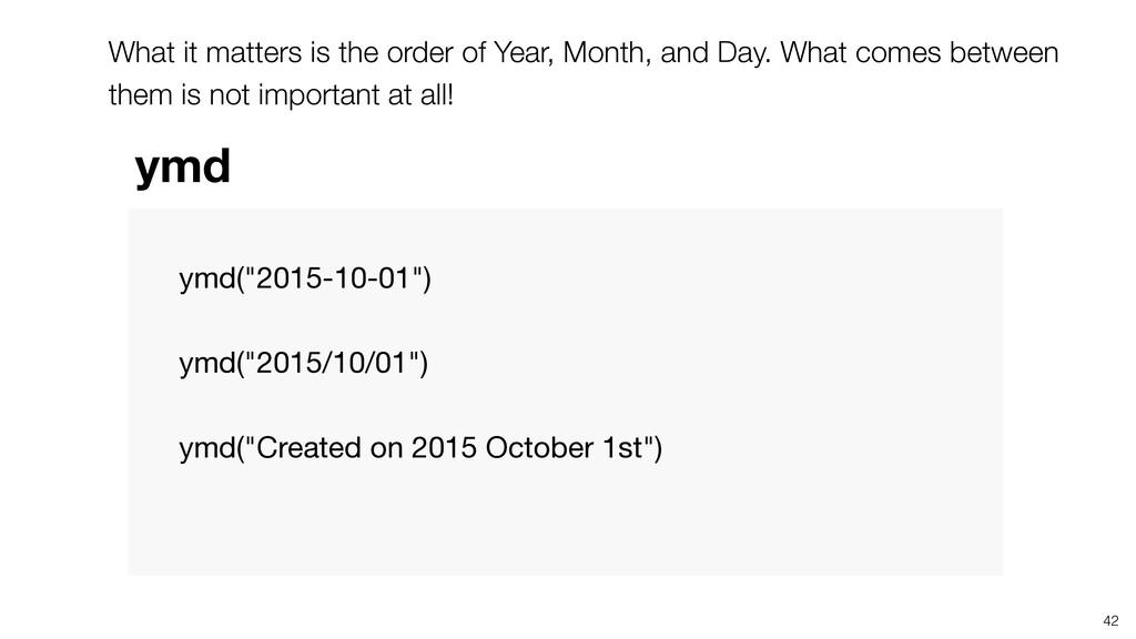 """ymd(""""2015-10-01"""")   ymd(""""2015/10/01"""")   ymd(""""Cr..."""