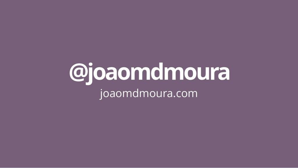 @joaomdmoura @joaomdmoura joaomdmoura.com