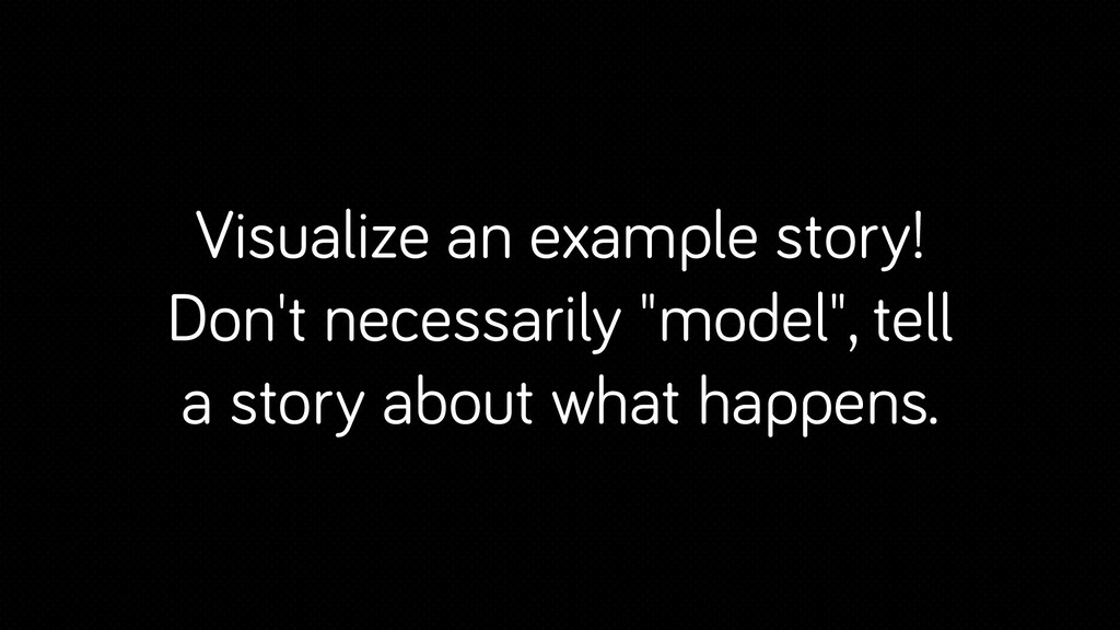 """Visualize an example story! Don't necessarily """"..."""