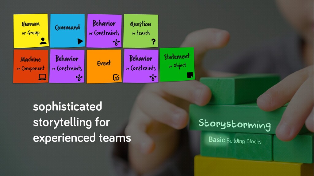 Basic Building Blocks Human or Group Event Comm...