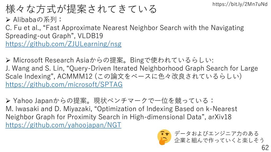 https://bit.ly/2Mn7uNd 様々な方式が提案されてきている ➢ Alibab...