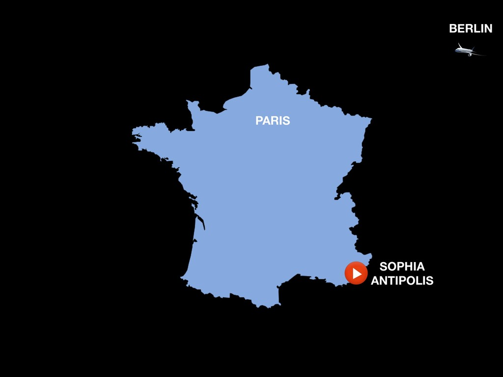 PARIS BERLIN SOPHIA ANTIPOLIS