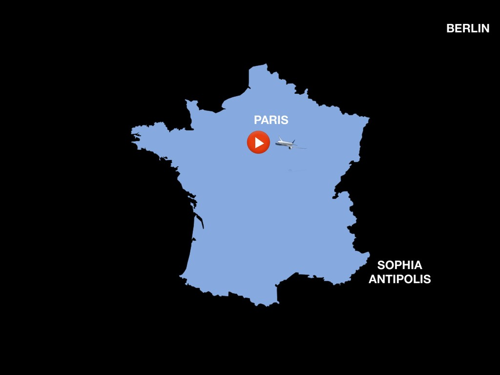 SOPHIA ANTIPOLIS PARIS BERLIN