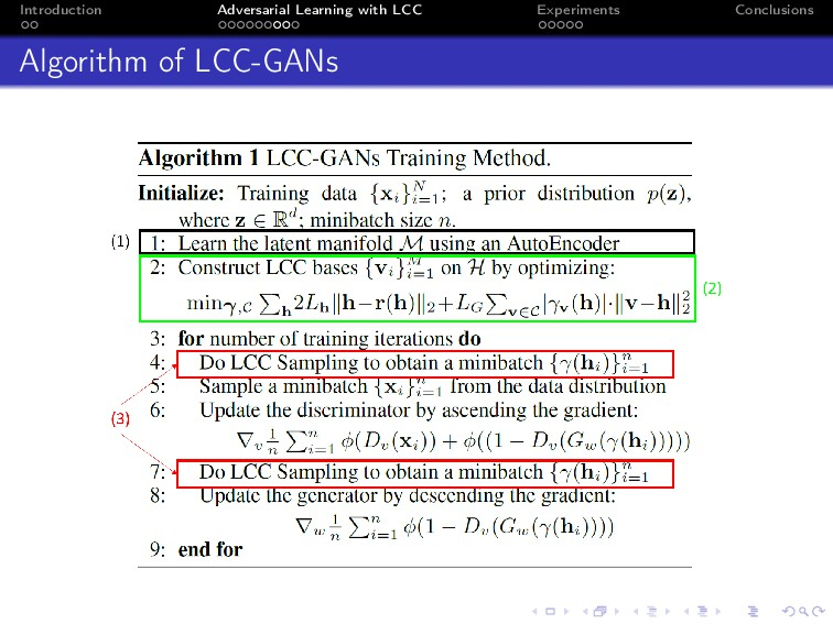 Introduction Adversarial Learning with LCC Expe...