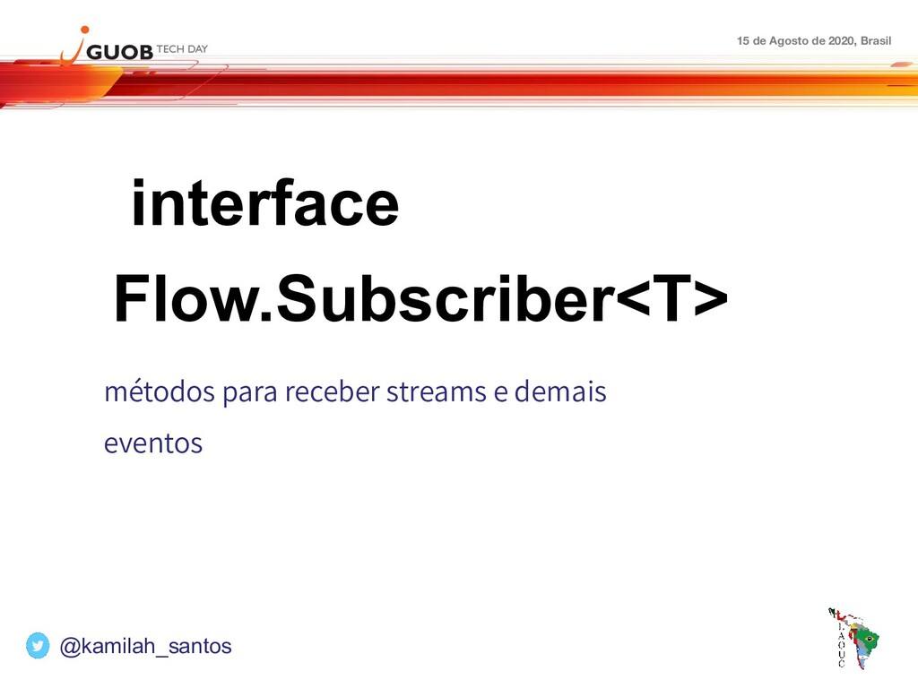 15 de Agosto de 2020, Brasil interface Flow.Sub...