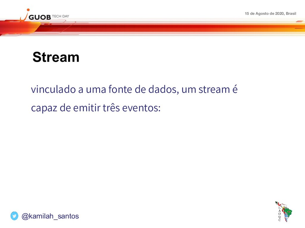 15 de Agosto de 2020, Brasil Stream vinculado a...