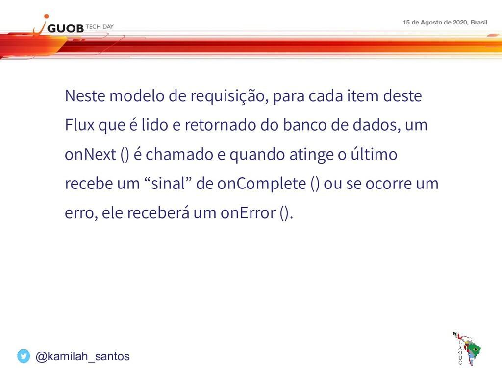 15 de Agosto de 2020, Brasil Neste modelo de re...