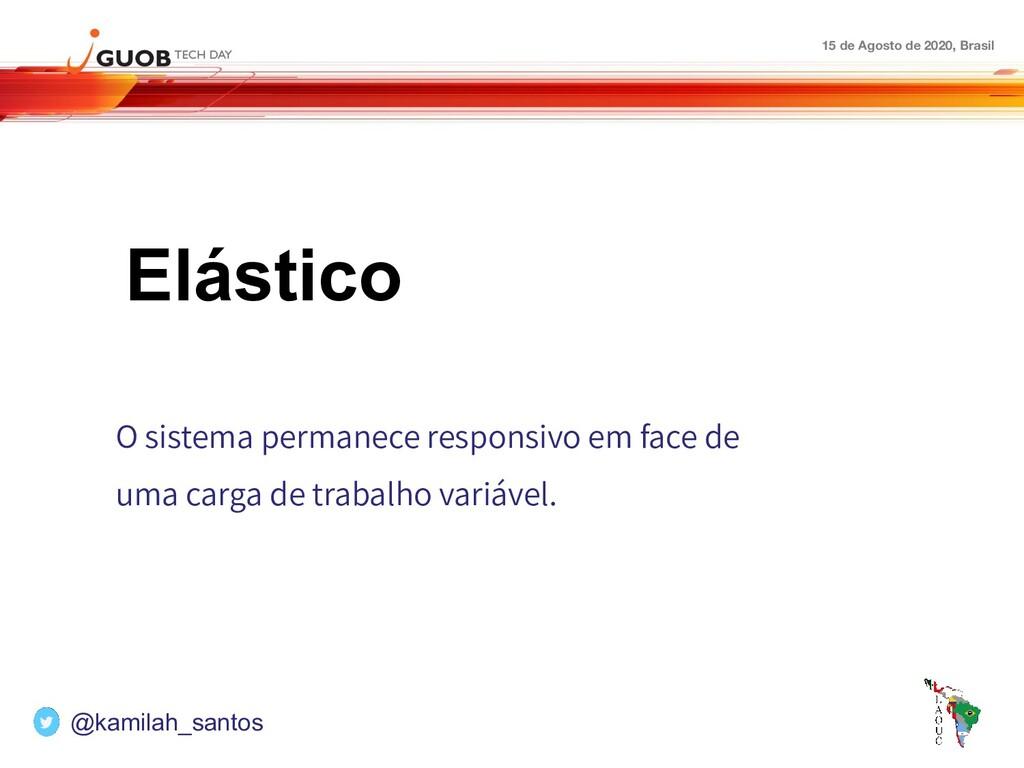 15 de Agosto de 2020, Brasil Elástico O sistema...