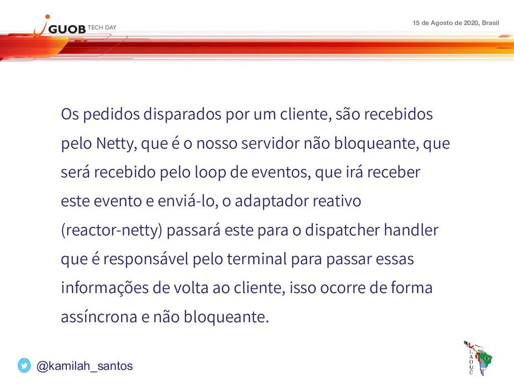 15 de Agosto de 2020, Brasil Os pedidos dispara...