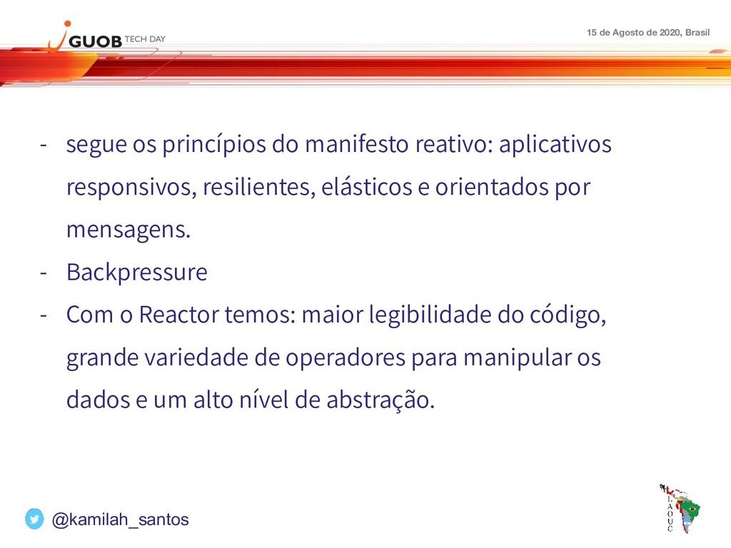 15 de Agosto de 2020, Brasil - segue os princíp...