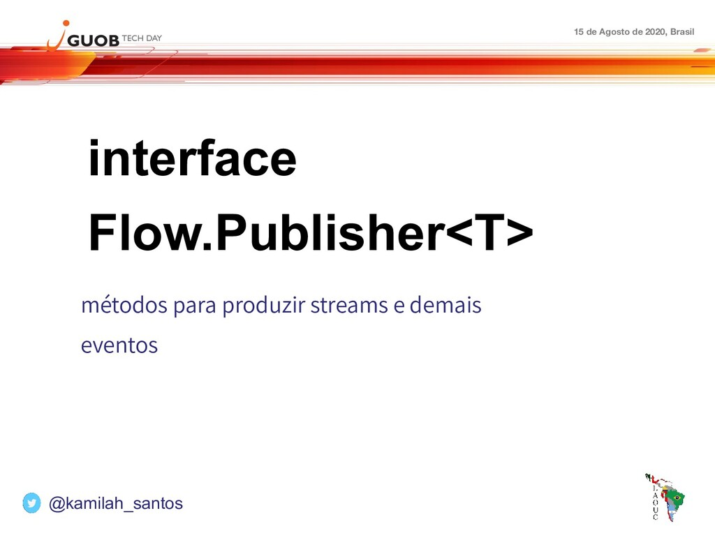15 de Agosto de 2020, Brasil interface Flow.Pub...