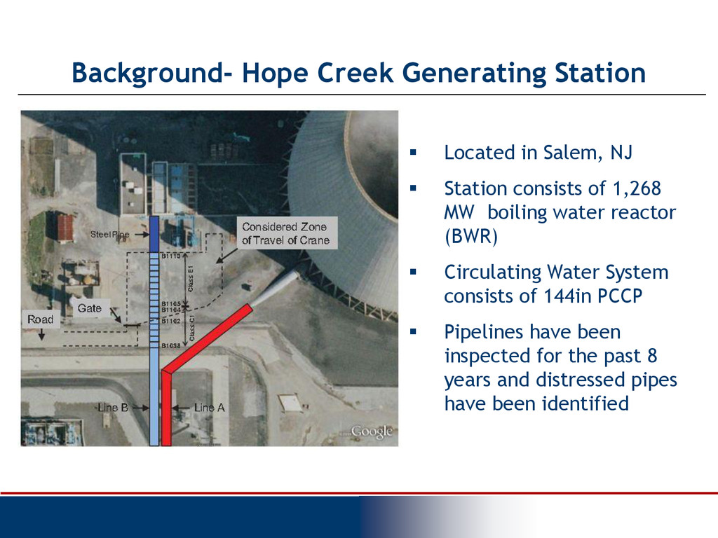 Background- Hope Creek Generating Station  Loc...
