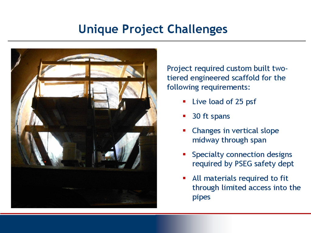 Unique Project Challenges Project required cust...