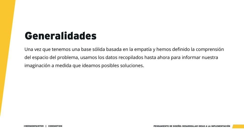 PENSAMIENTO DE DISEÑO: DESARROLLAR IDEAS A LA I...