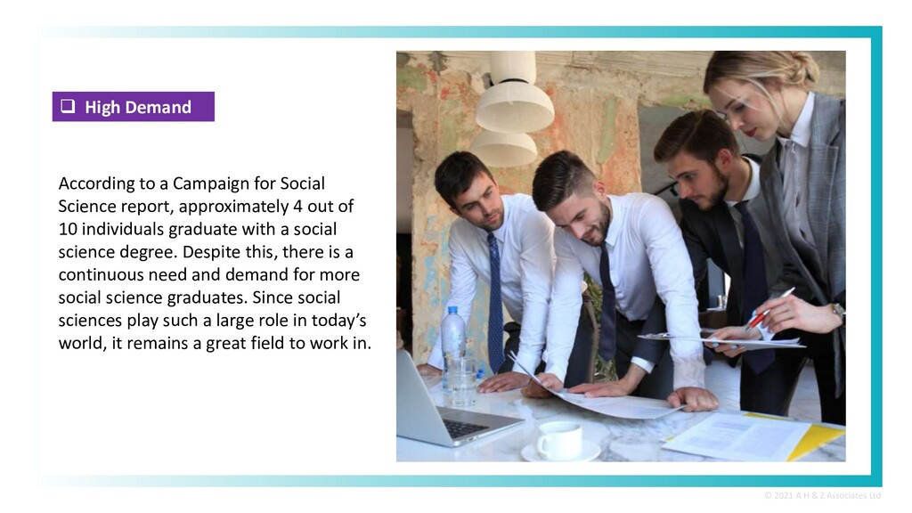 High Demand According to a Campaign for Socia...