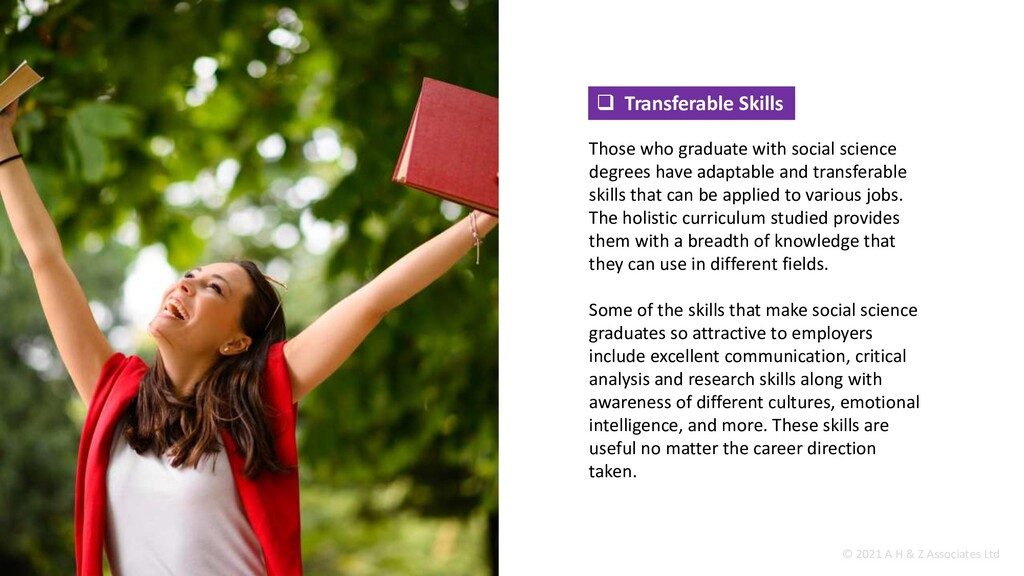  Transferable Skills Those who graduate with s...