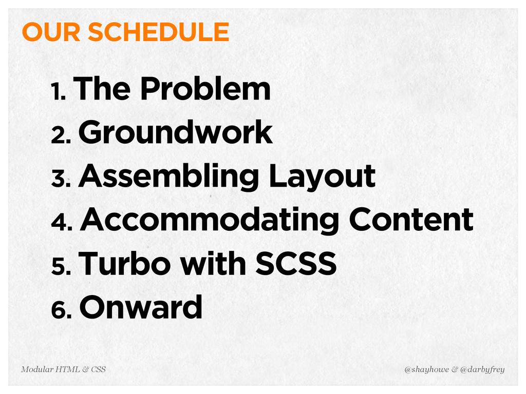 @shayhowe & @darbyfrey Modular HTML & CSS 1. Th...