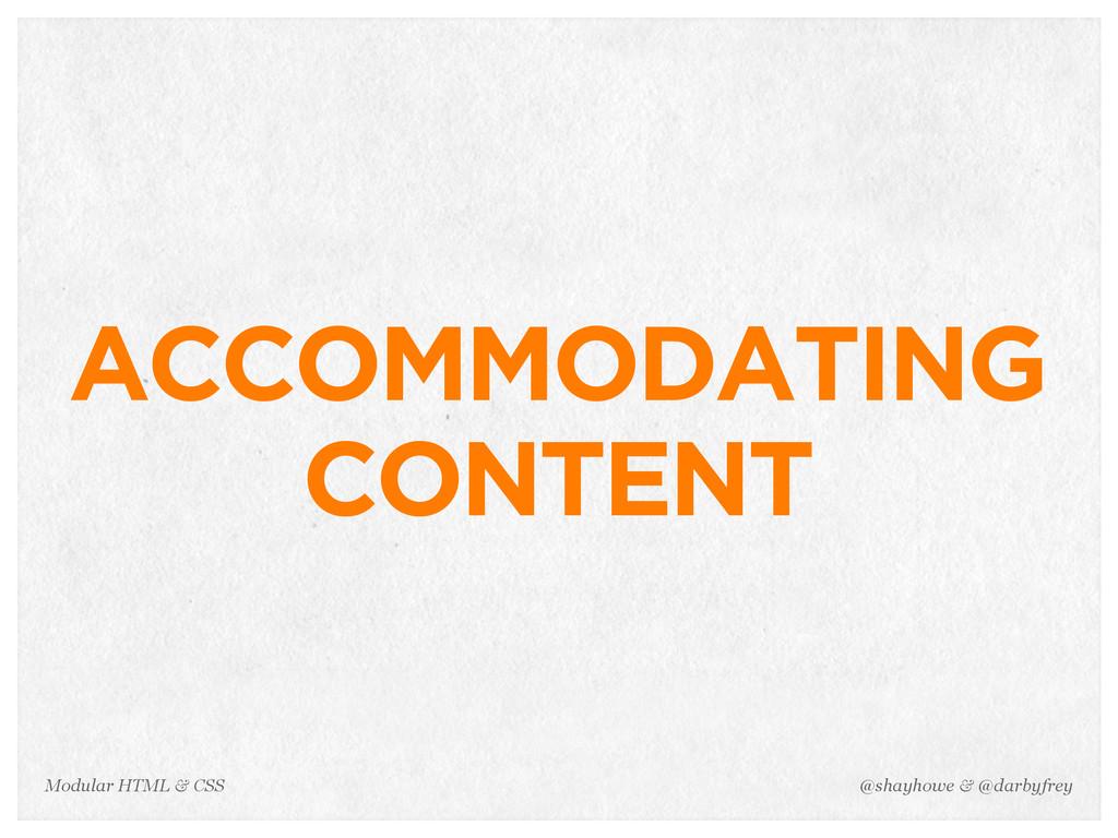 @shayhowe & @darbyfrey Modular HTML & CSS ACCOM...