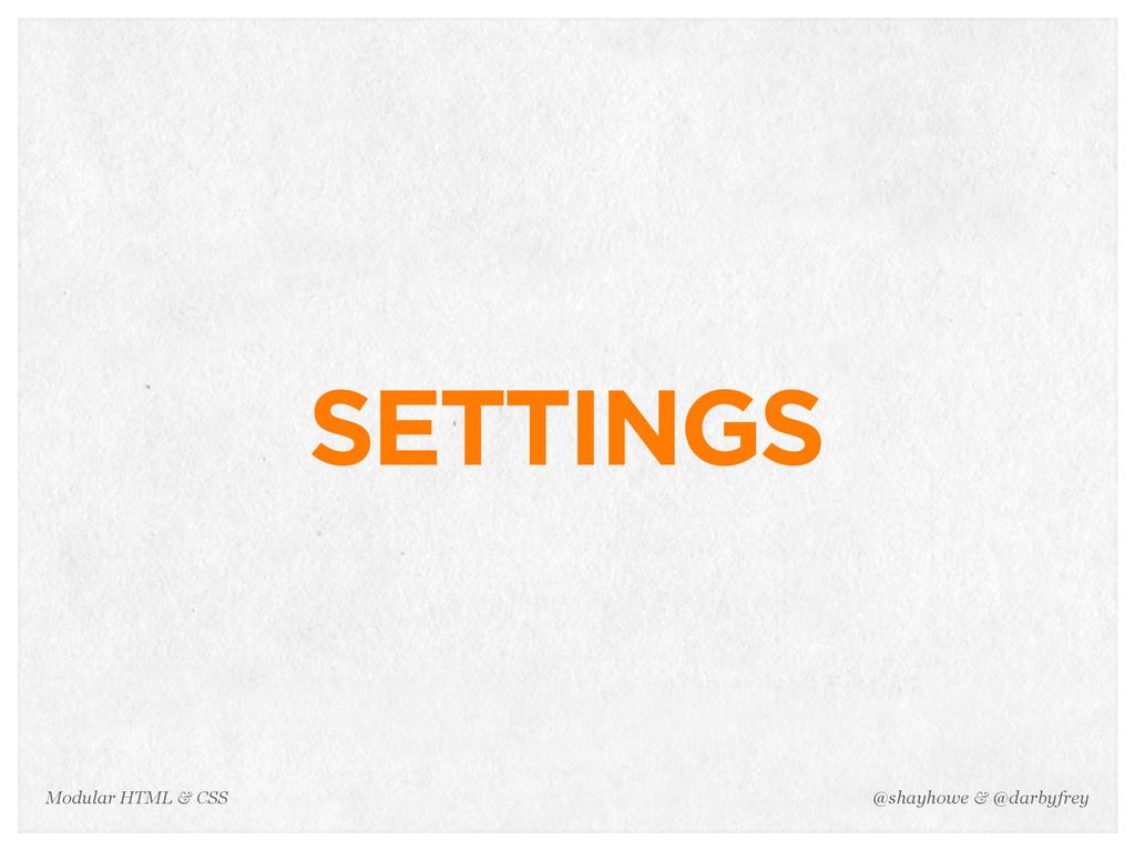 @shayhowe & @darbyfrey Modular HTML & CSS SETTI...