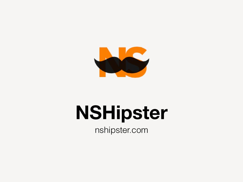 NSHipster nshipster.com
