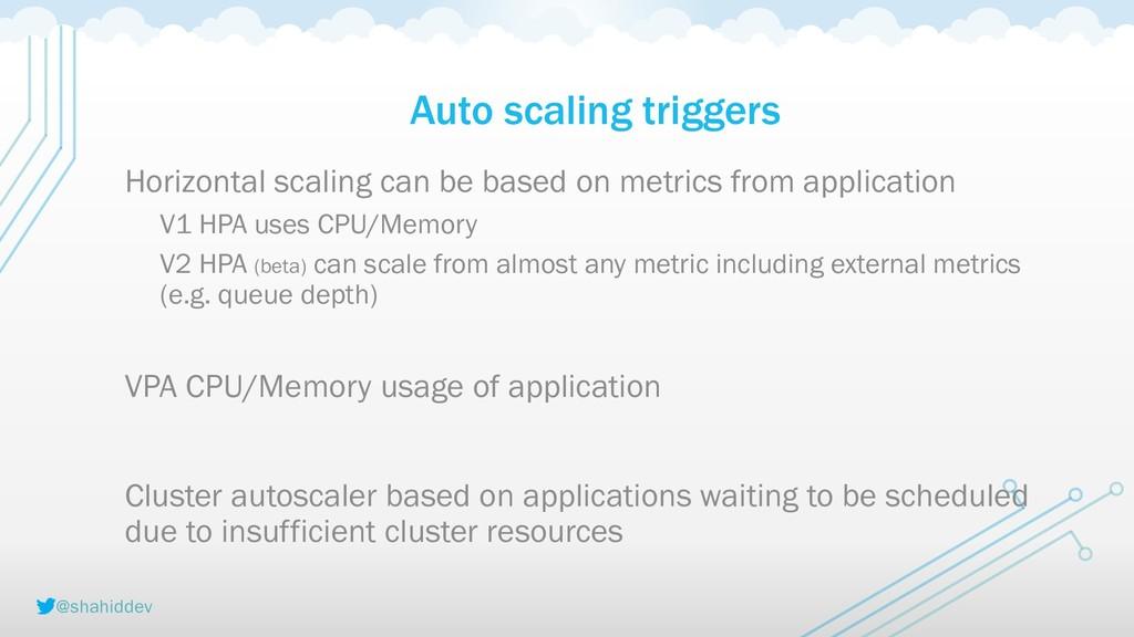 @shahiddev Auto scaling triggers Horizontal sca...
