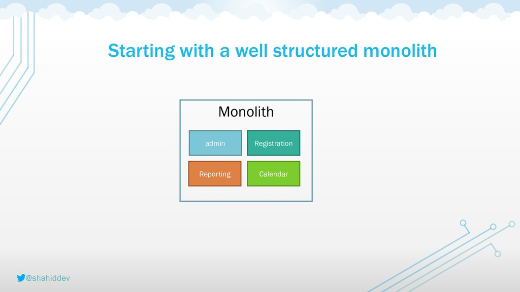 @shahiddev Starting with a well structured mono...