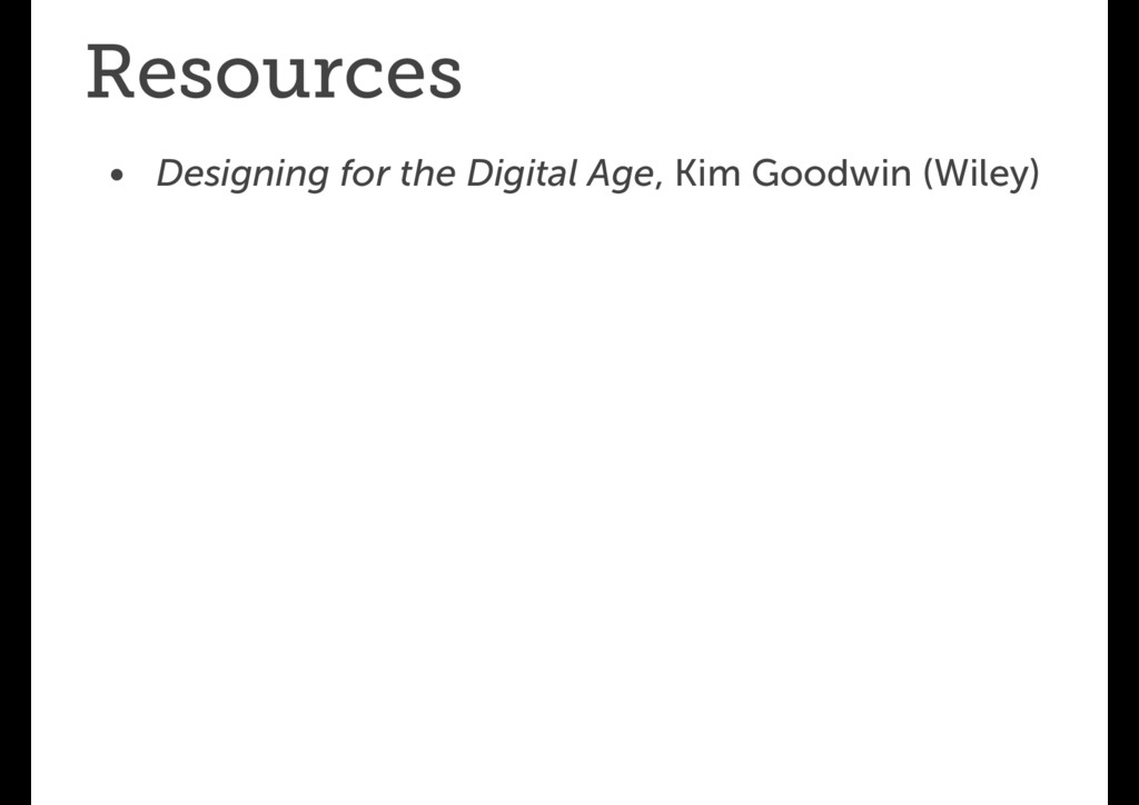 Resources • Designing for the Digital Age, Kim ...