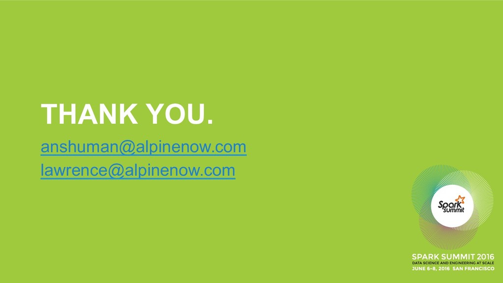 THANK YOU. anshuman@alpinenow.com lawrence@alpi...
